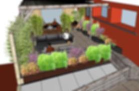 Aménagement terrasse balcon jardin Toulouse