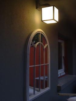Miroir et luminaire