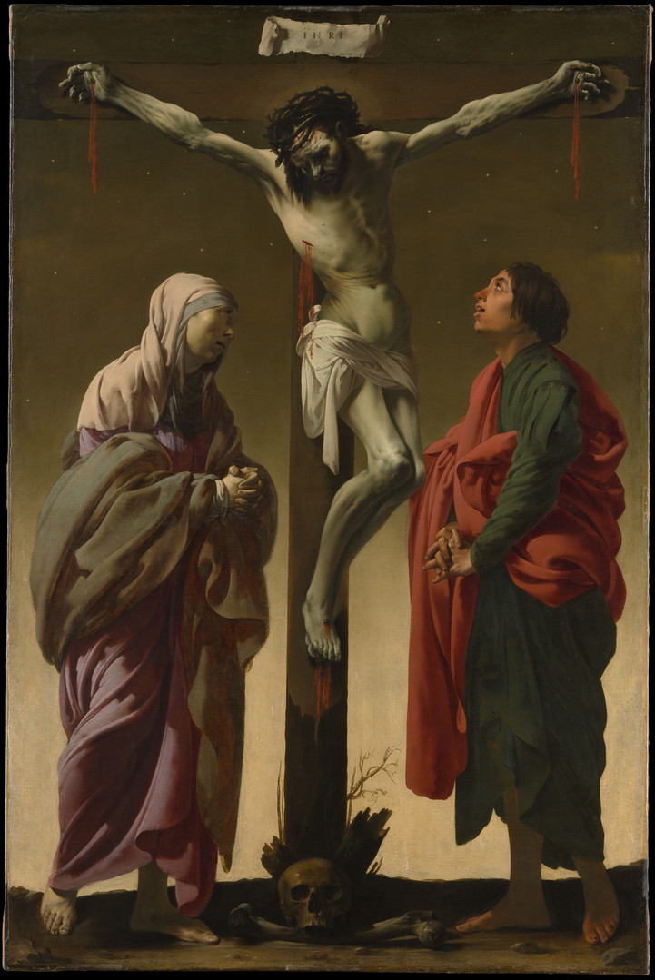 The Crucifixion with the Virgin and Saint John ca. 1624–25