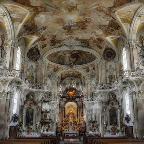 Basilica Birnau, The pilgrimage church on Lake Constance, Germany