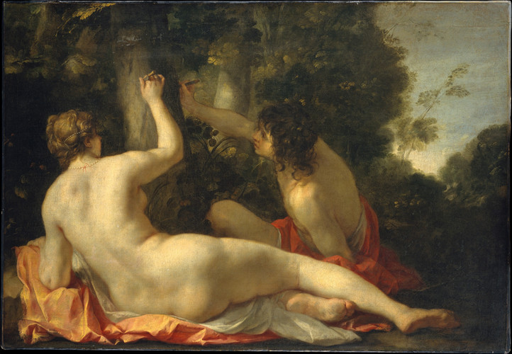 Angelica and Medoro possibly early 1630s