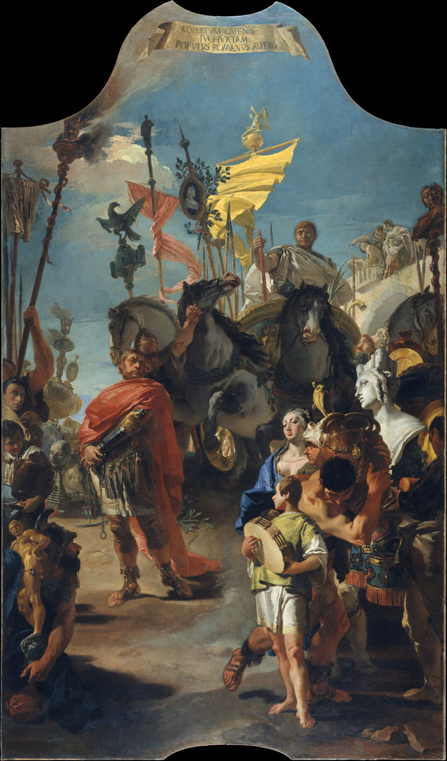 The Triumph of Marius 1729