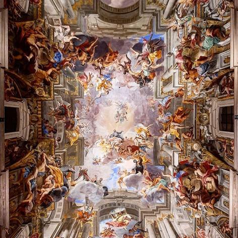 Chiesa di Sant'Ignazio di Loyola, Rome, Italy.