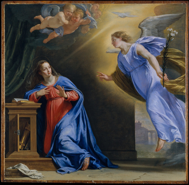 The Annunciation ca. 1644