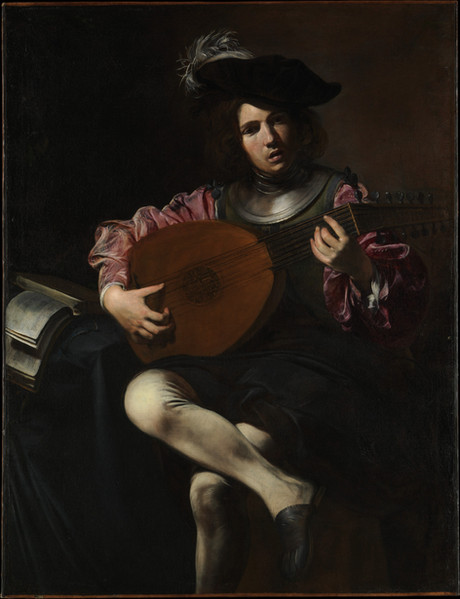 Lute Player ca. 1625–26