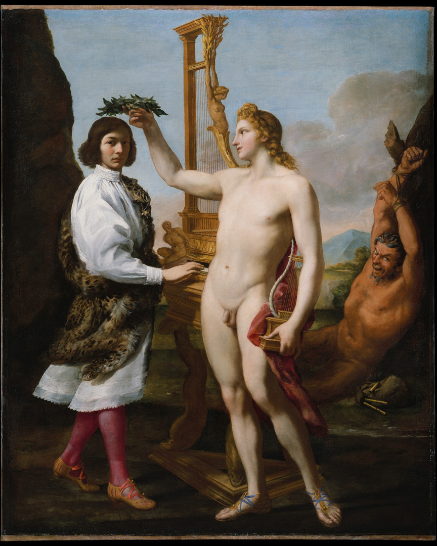 Marcantonio Pasqualini (1614–1691) Crowned by Apollo.