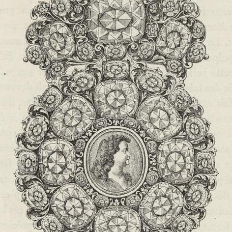 Brooch Design, c.1723.