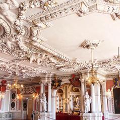 Banqueting Hall of Schloss Friedenstein in Gotha