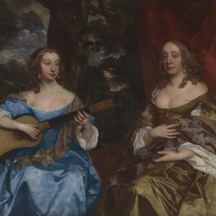 Two Ladies of the Lake Family c.1660 by Sir Peter Lely