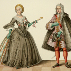 Women and Men Baroque Clothing