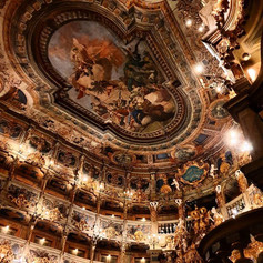 The Margravial Opera House in Bayreuth