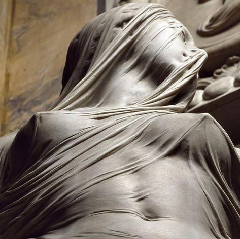 """Veiled truth"" by Antonio Corradini (1688-1752)"