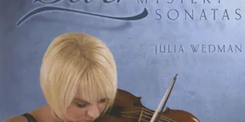 Teatime Concert with Julia Wedman