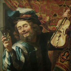 1623 - The Merry Fiddler by Gerard van Honthorst