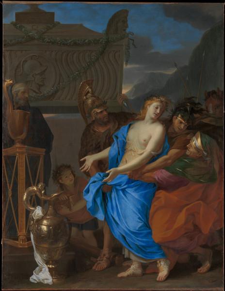 The Sacrifice of Polyxena 1647