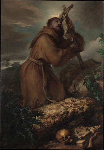 Saint Francis in Ecstasy ca. 1650