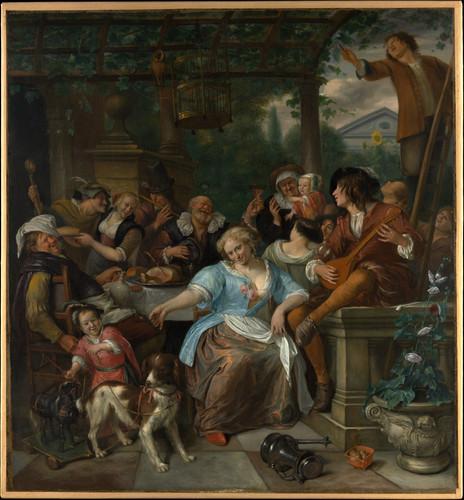 Merry Company on a Terrace ca. 1670