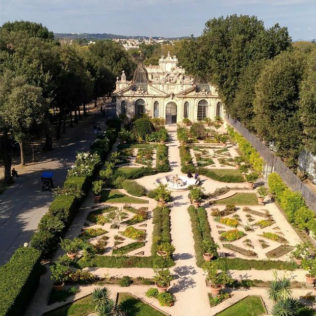 Villa Borghese Gardens, Italy