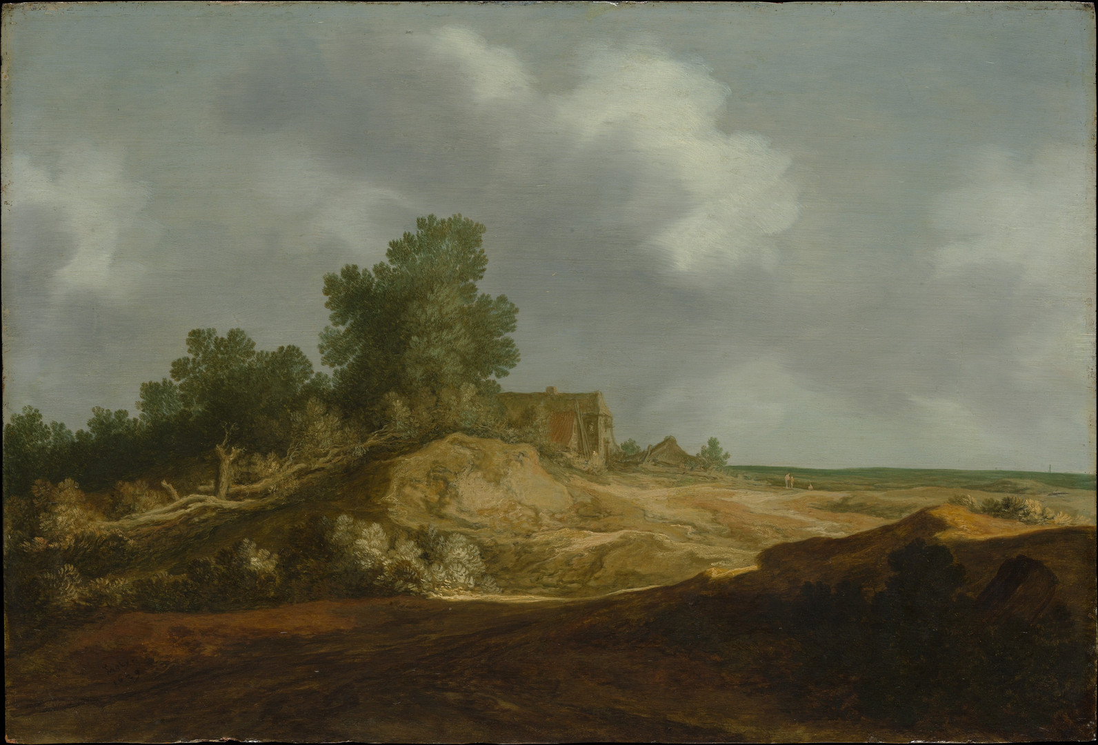 Landscape with a Cottage 1629