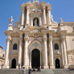 Duomo di Siracusa, Sicily.
