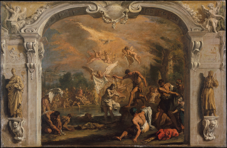 The Baptism of Christ ca. 1713–14