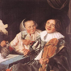 1630 - The Carousing Couple by Judith Leyster