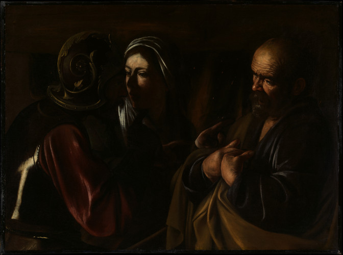 The Denial of Saint Peter 1610