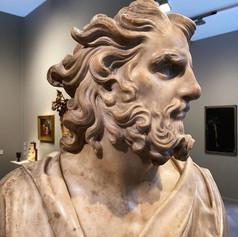 Pierre Puget (1620-1694). Buste d'homme « à l'antique » c.1660-1669. Marbre.