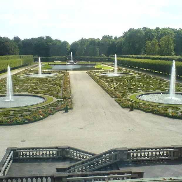 Parterres of Augustusburg Palace, Brühl, Germany