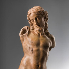 Christ Resurrected Terracotta by Alessandro Algardi (1598 – 1654)