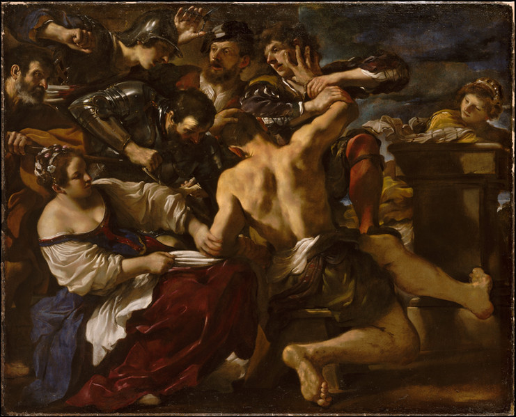 Samson Captured by the Philistines 1619