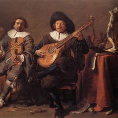 1635 - The Duet by Cornelis Saftleven