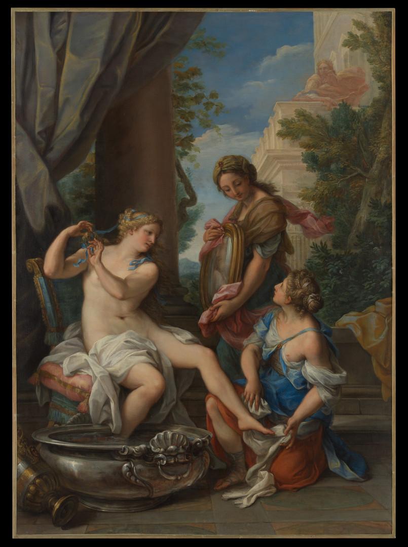 Bathsheba at Her Bath ca. 1700