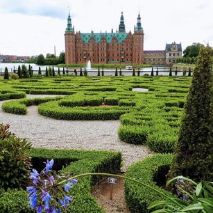 Frederiksborg Castle, in Hillerød north of Copenhagen, Denmark