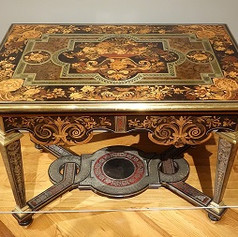 French Baroque Table (c. 1670)