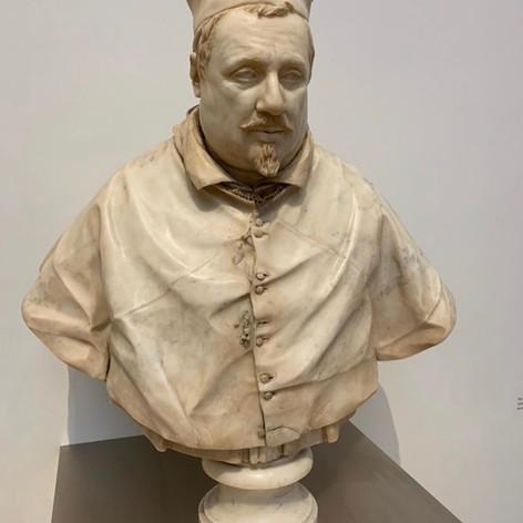 Bust of Cardinal Scipione Borguese.