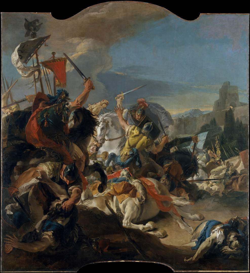 The Battle of Vercellae 1725–29