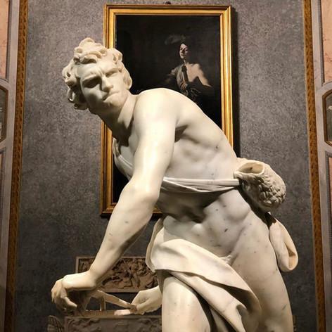 David by Bernini Gian Lorenzo