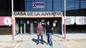 La Casa de la Juventud alberga en su interior al nuevo IES 'Jose Pedro Pérez-LLorca'