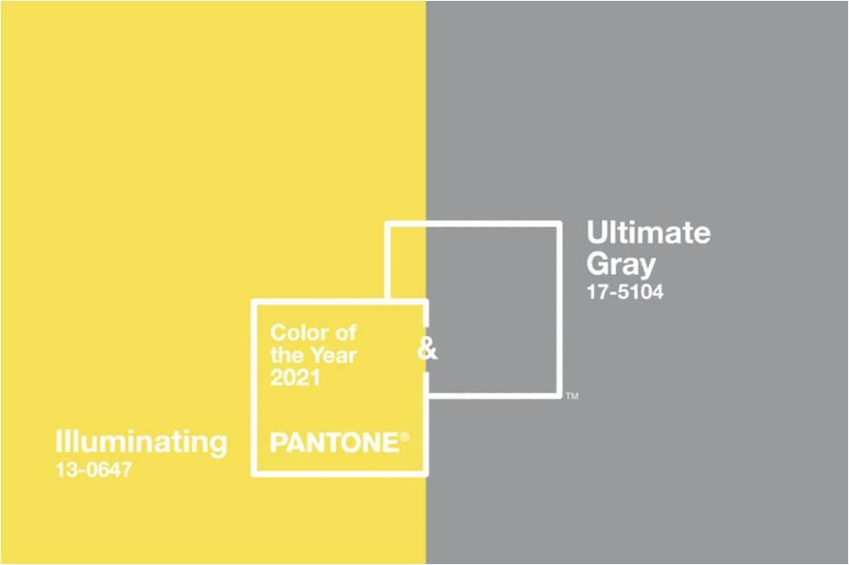 Couleurs de l'année 2021 Pantone décoration salon