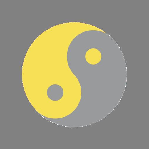 Yin et Yang aux couleurs de l'année 2021 Feng Shui