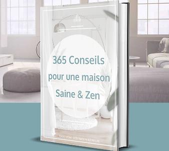 Livre 365 conseils pour une maison saine & zen