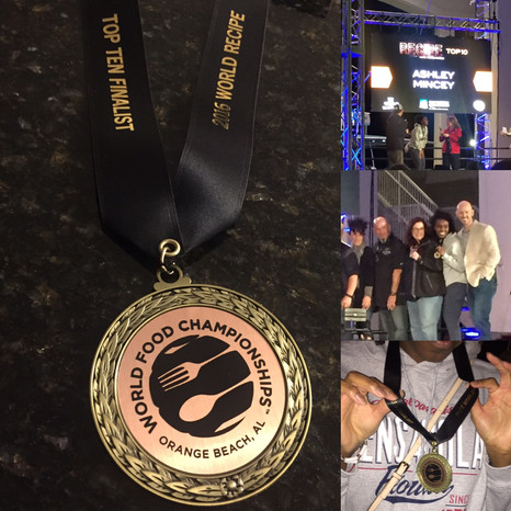 From Golden Ticket to Golden Medal! 10th Overall at WFC 2016