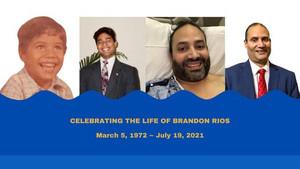 In Honor of Brandon Rios