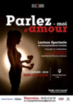 Affiche Parlez Moi d'Amour - A5 - 300dpi