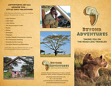 Download beyond Adventures safari brochure.
