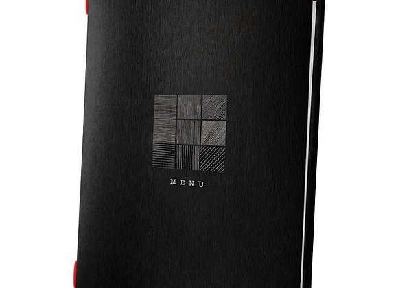 A4 Size Black Eco Custom Cover