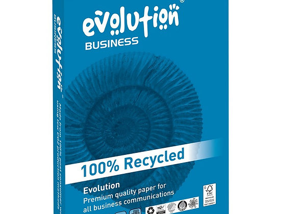 Evolution Business A4 160 gsm Light Card Bright White 250 Sheets