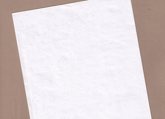 White Ribbed Kraft Paper 90gsm A4 . 100 sheets