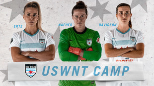 Three Red Stars Selected for U.S. WNT Camp Roster